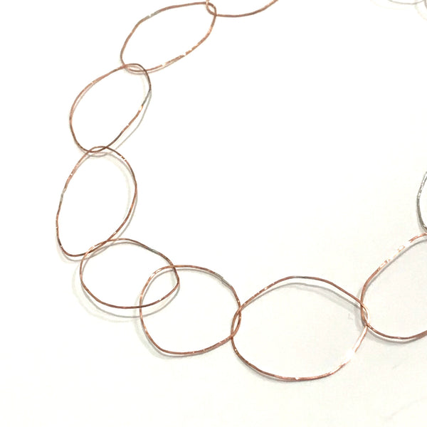 'Copper Links Necklace'