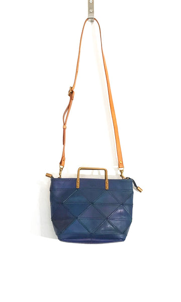 'Origami Bag Small' Blue