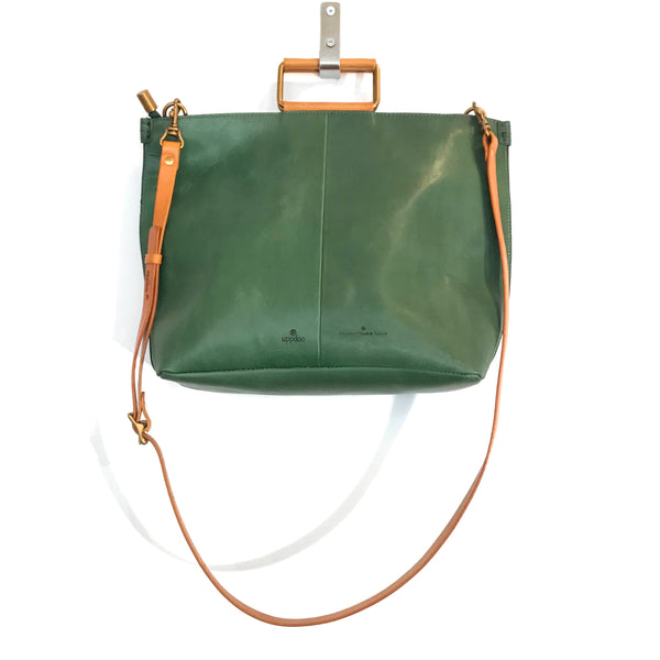 'Joy Handle Bag Large' Green