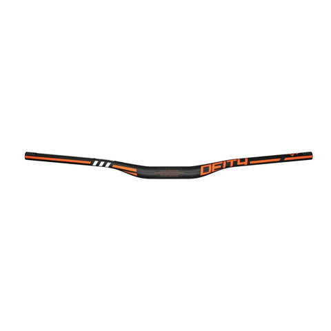 Deity Components Skywire Carbon Handlebars Orange