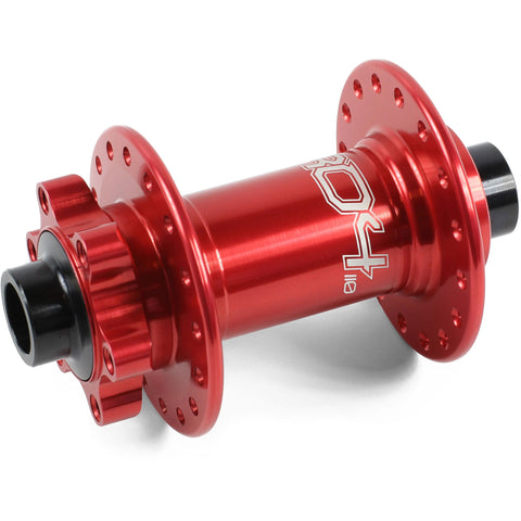 Hope Pro 4 Front Hub Boost Red