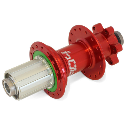 Hope Pro 4 150 Boost DH Rear Hub Alloy Freehub Red