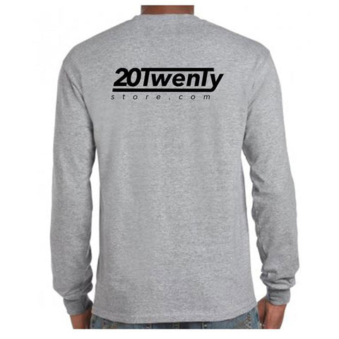 20Twenty Long Sleeve T Shirt Back