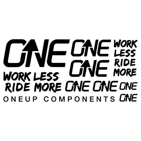 OneUp Components Decal Kit Black