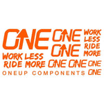 OneUp Components Decal Kit Orange