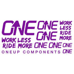 OneUp Components Decal Kit Purple