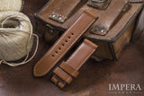 Genuine Hermes Barenia Leather Watch Strap