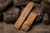 Tannery Painted French Calf Leather Watch Strap