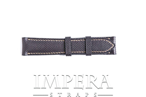Genuine Purple Karung Snake Skin Watch Strap