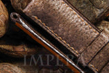 Panerai Brown Karung Snake Skin Watch Strap