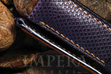 Panerai Purple Karung Snake Watch Strap
