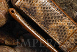 Brown Karung Snake Watch Strap
