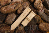Nubuck Natural Leather Watch Strap