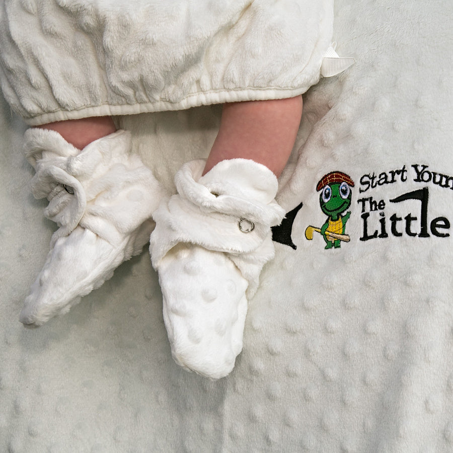 The Minky Golf Ball Layette