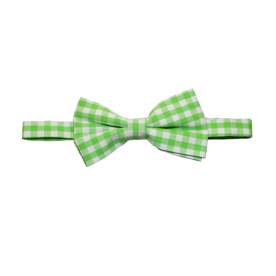 The Gingham Bow Tie