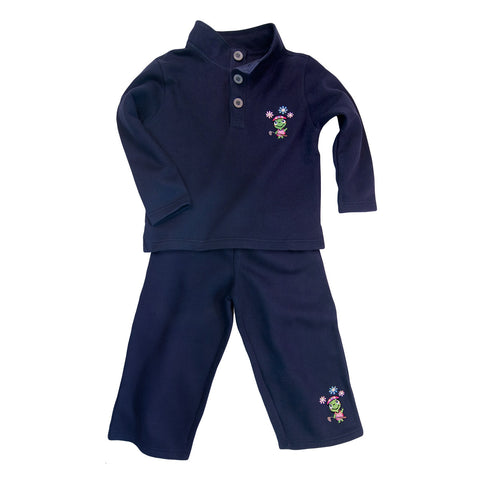 The Fairway Fleece Set Girls
