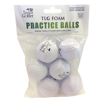 TLG Foam Practice Golf Balls (6-Pack)