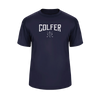 """Golfer"" Performance Tee (Navy)"