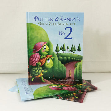 Putter and Sandy's Great Golf Adventure Number Two Book