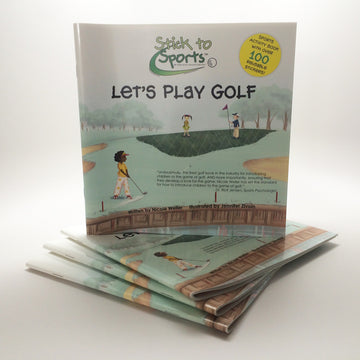 Stick to Sports: Let's Play Golf Book