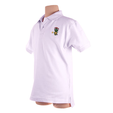 The Tour Polo (Boys) White