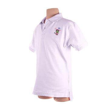 The Tour Polo (Girls) White