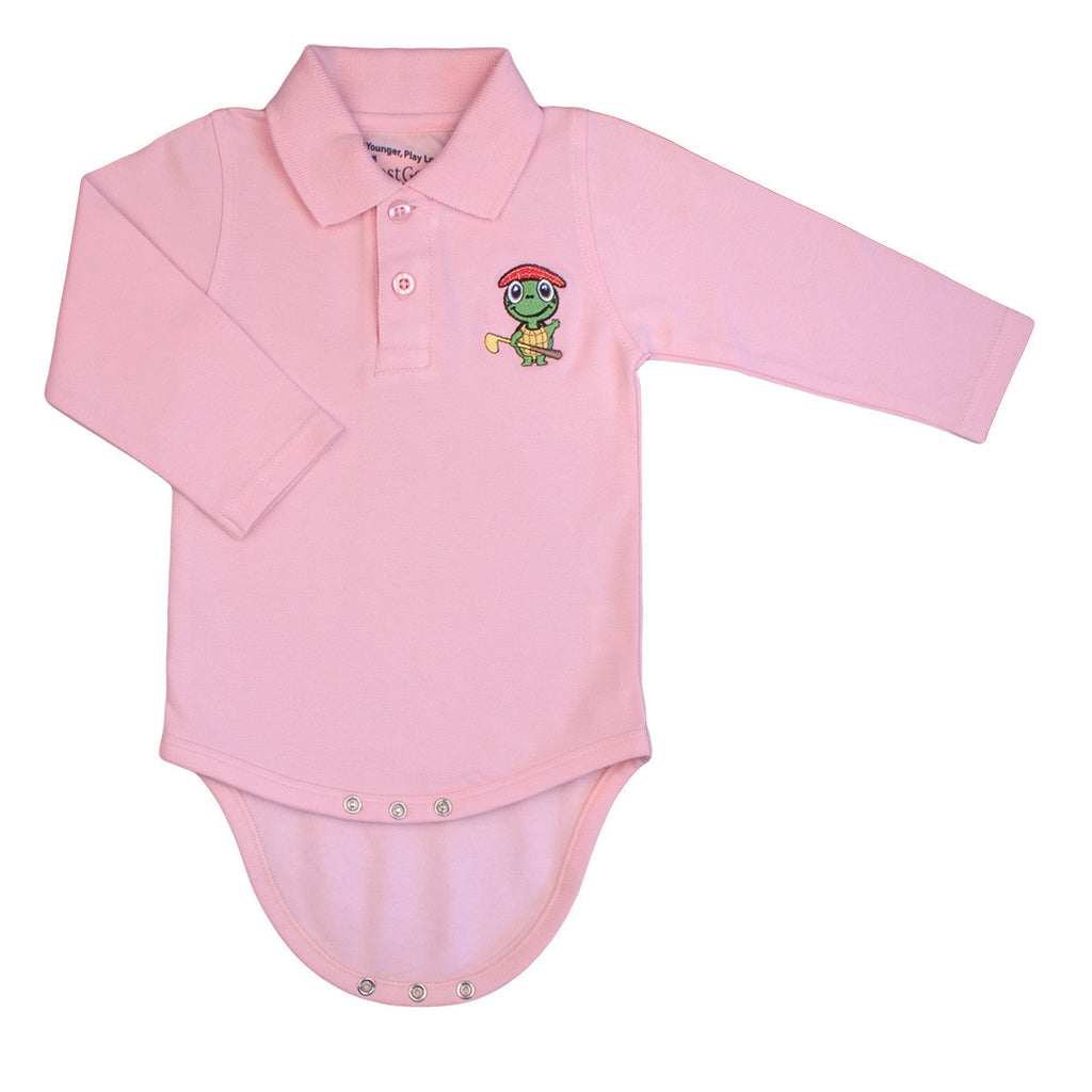 Pink Polo Shirt For Toddler Boy