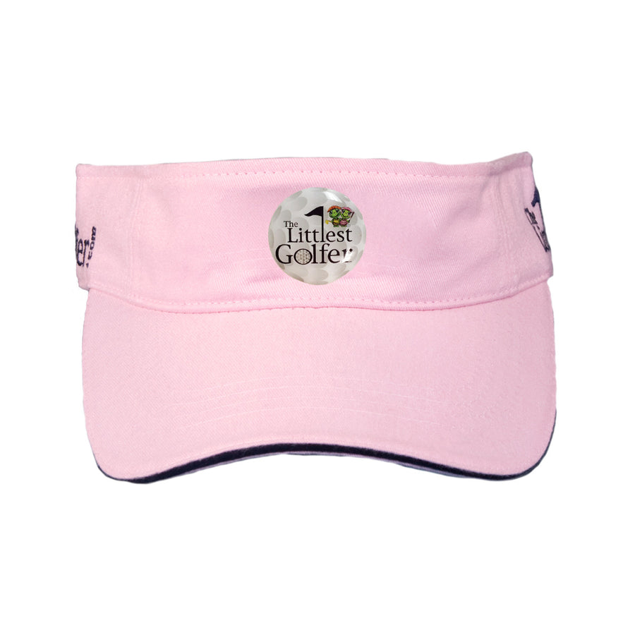 The Littlest Golfer Visor