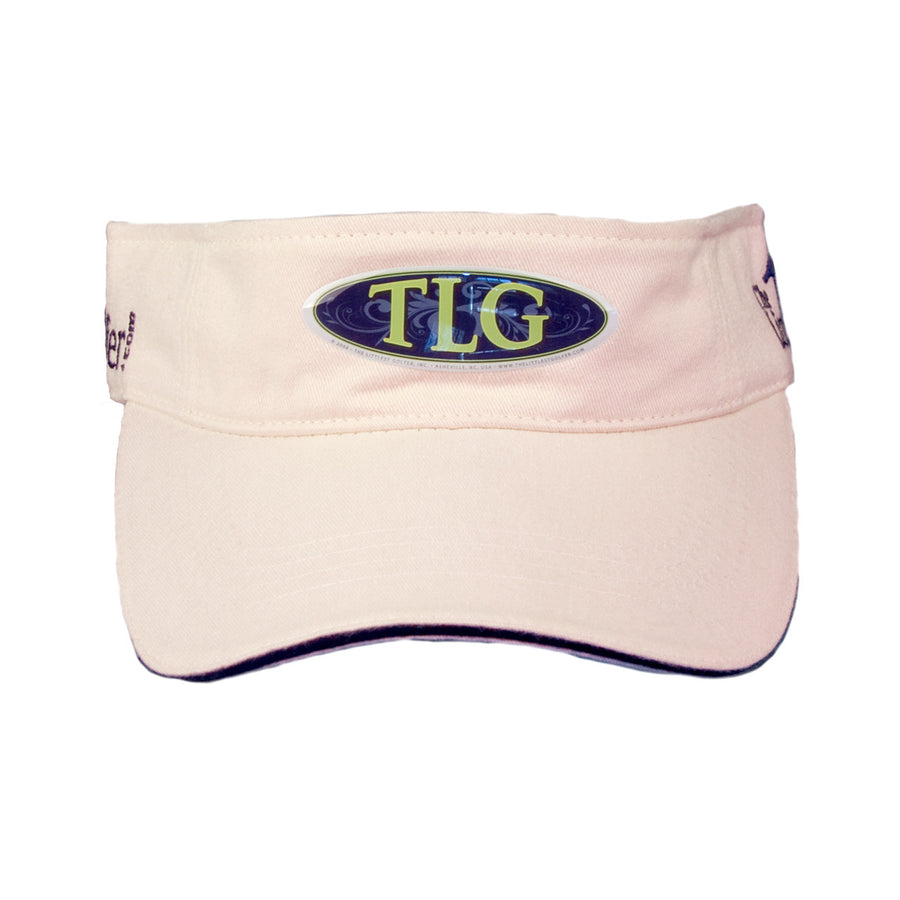 The Littlest Golfer Visor Beige