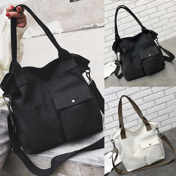 Women  Multi-pockets Shoulder Bag New Fashion Portable Outdoor Travel Zipper Multi-functions Large Capacity Handbags