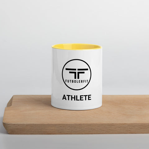"""Athlete"" Mug with Color Inside"