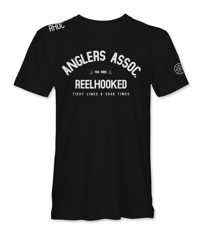 Anglers Association Tee - Black
