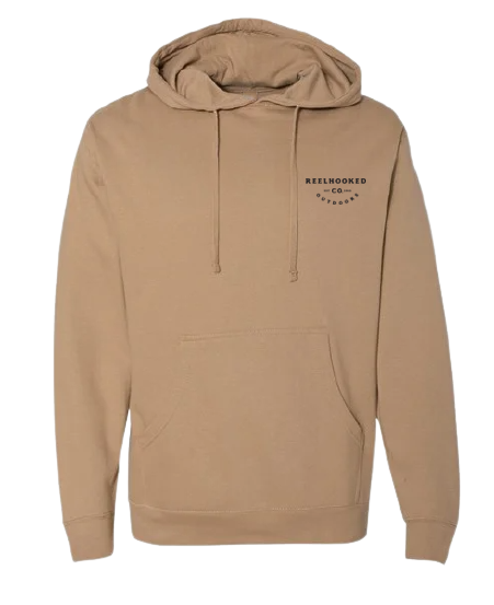 ReelHooked True Outdoors Hoodie - Sandstone