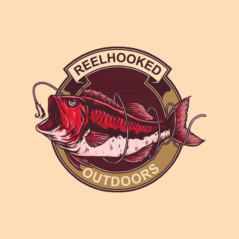 ReelHooked Weatherproof Vintage-Wire Badge
