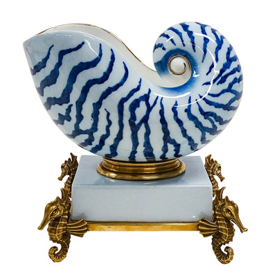 Nautilus Statue Decor