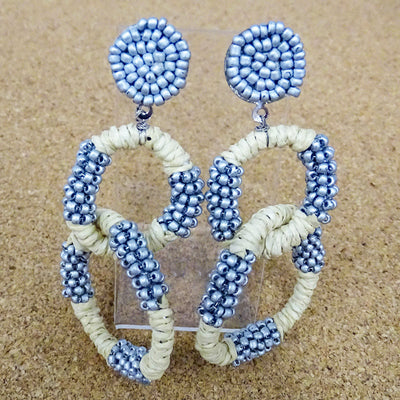 Boardwalk Earrings Beaded/Woven
