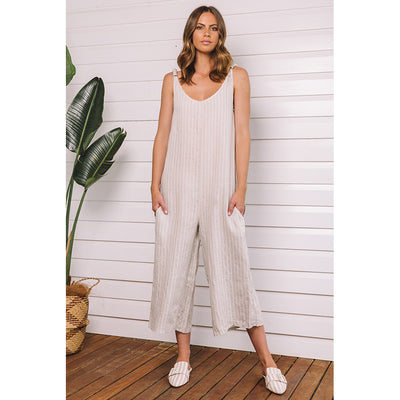 Taormina Jumpsuit cream