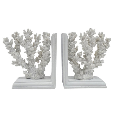 Coral Bookend Set