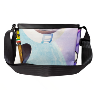 Borsa media con tracolla in PVC