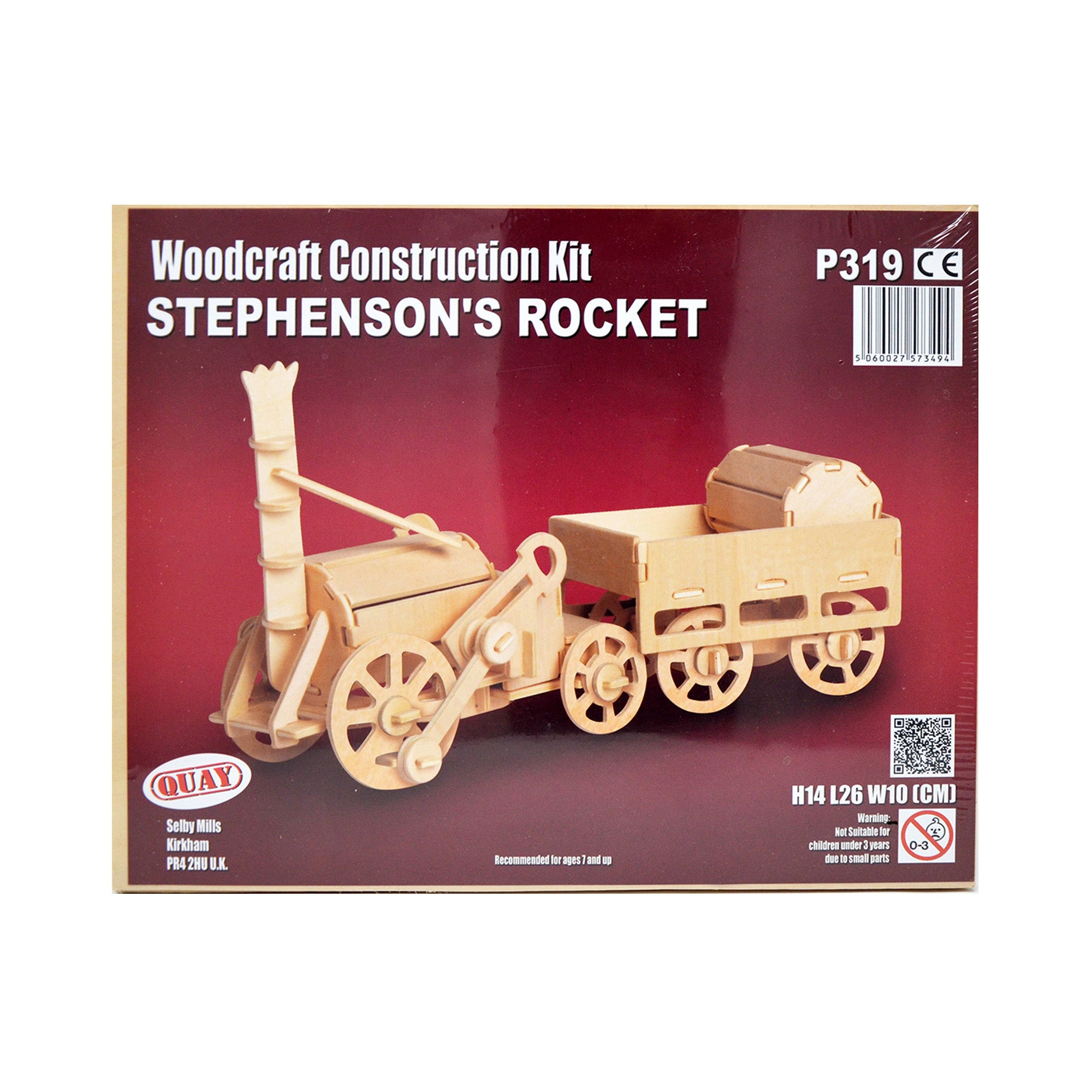 Puzzle tridimensionali in legno - Stephenson's Rocket