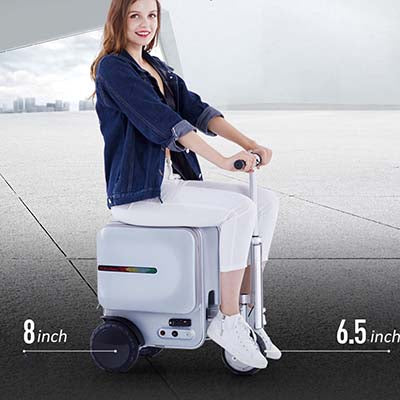 Intelligent Electric Riding Charging Box Suitcase USB Smart Suitcase Trolley Luggage Suitcase Rolling Case Travel Bag on Wheels