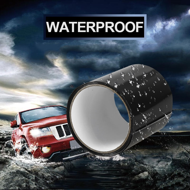 Waterproof Tape Stop Leaks Seal Repair Tape Performance Self Fix Tape Fiberfix Adhesive Insulating Duct Tape Super Strong Fiber