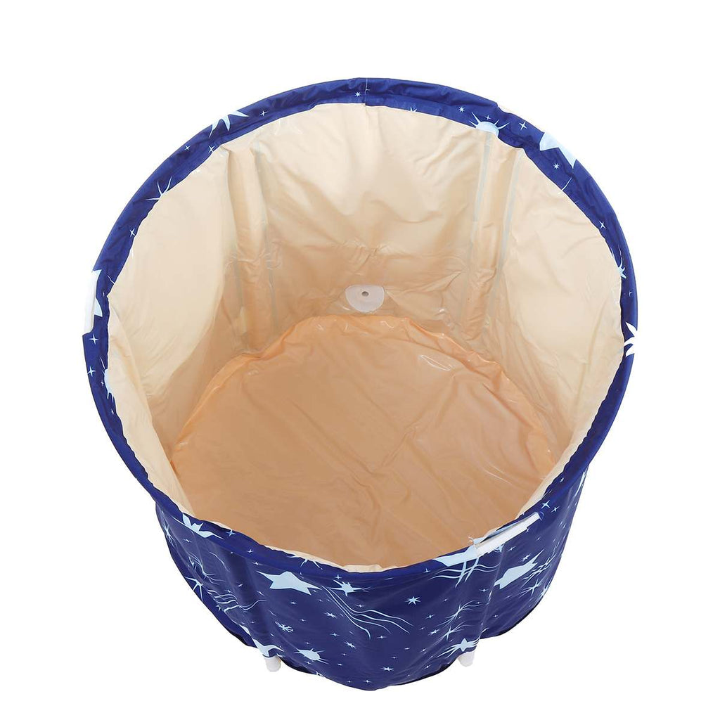 Portable Bathtub Folding Bath Bucket Thicken Shower Barrel Large Adult Tub Baby Swimming Pool Insulation Family Bathroom SPA Tub