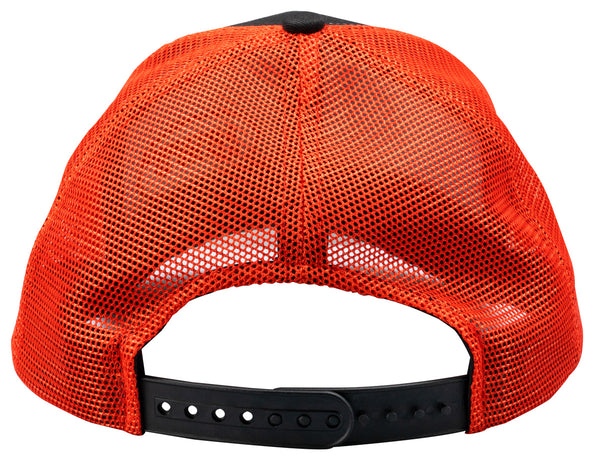 Lew's® Black and Neon Red Mesh Cap