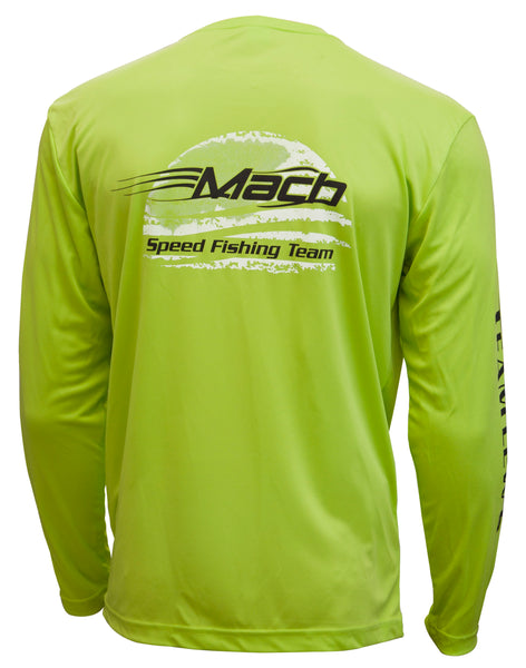 Microfiber Mach Long Sleeve Neon Green