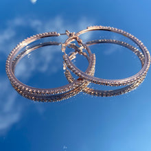 Load image into Gallery viewer, Heavenly Hoops -Rose Gold