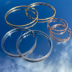 Heavenly Hoops - Gold