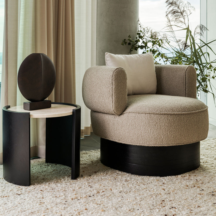 Drum Side Table | Design Haus Liberty Collection