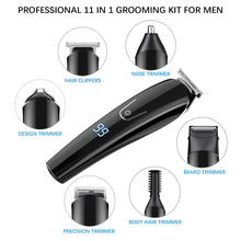 Load image into Gallery viewer, KIT FOR KINGS - Pro Mens Hair Clippers Set (11-in-1)