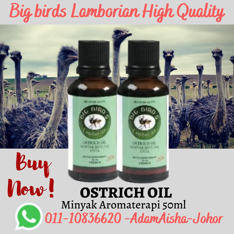 Ostrich Oil Aromatherapy 50ml